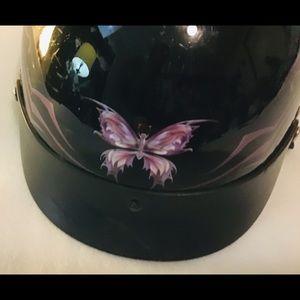 Ladies Motor Cycle Helmet,Dot, 56cm